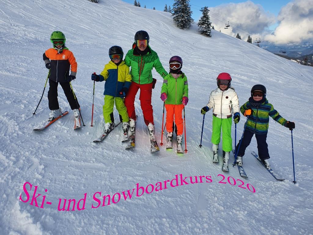 Ski- und Snowboardkurs 2020